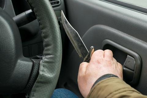 נתפס עם סכין קומנדו ברכבו – ולא ירצה אפילו יום אחד במאסר!